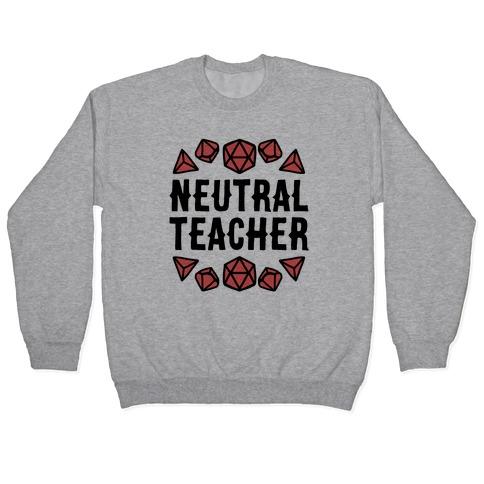 Neutral Teacher Pullover
