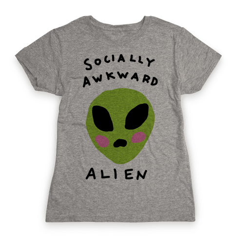 Socially Awkward Womens T-Shirt