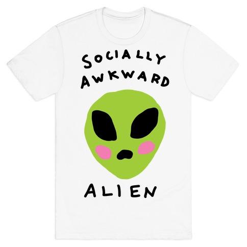 Socially Awkward Mens T-Shirt