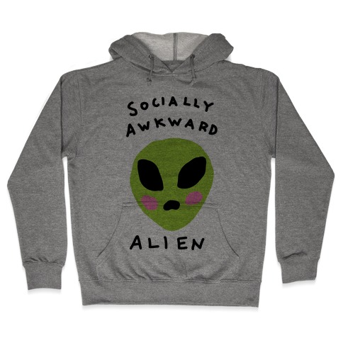 Socially Awkward Hooded Sweatshirt