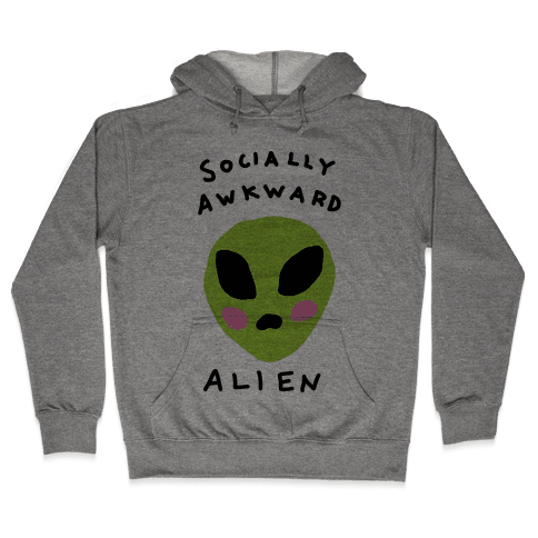 Socially Awkward Hooded Sweatshirt