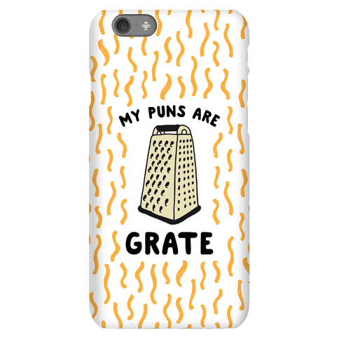 My Puns are Grate Phone Case