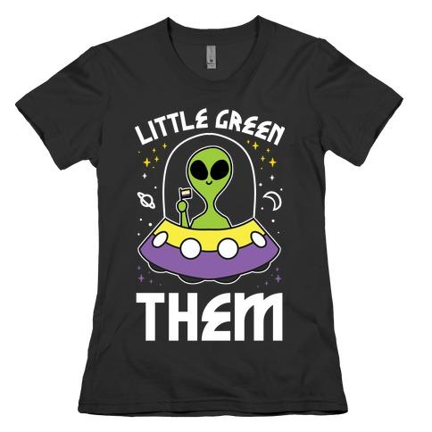 Little Green Them Womens T-Shirt