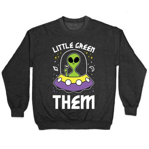 Little Green Them Pullover