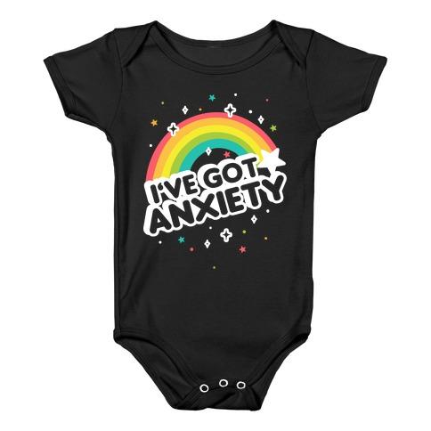 I've Got Anxiety Rainbow Baby Onesy