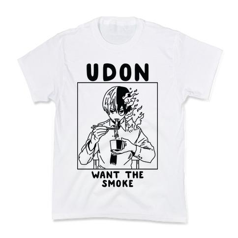 Udon Want the Smoke Kids T-Shirt