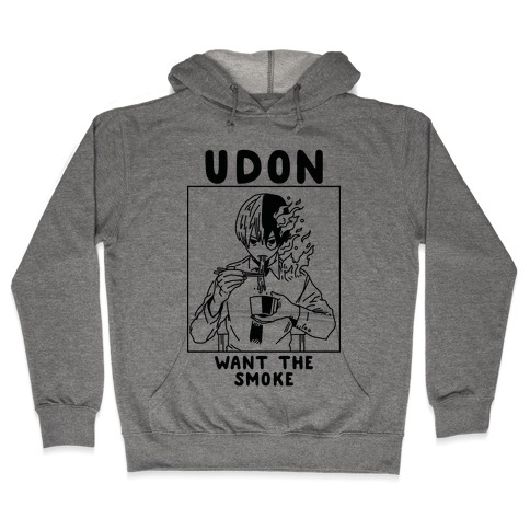 Udon Want the Smoke Hooded Sweatshirt