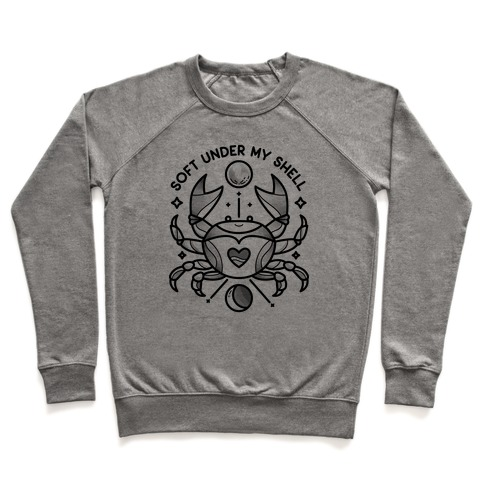 Soft Under My Shell - Cancer Crab Pullover