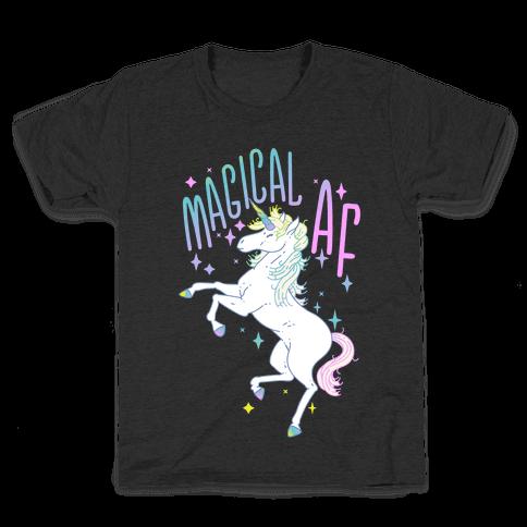 Magical AF Unicorn Kids T-Shirt