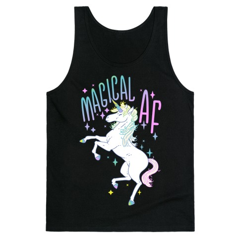 Magical AF Unicorn Tank Top