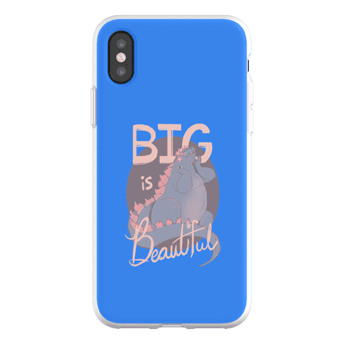 Big is Beautiful Phone Flexi-Case