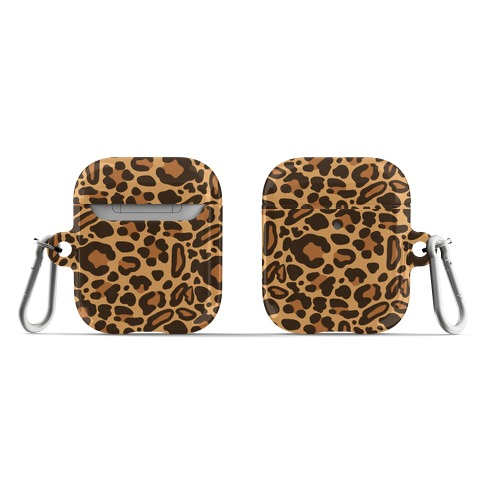 Leopard Print Pattern AirPod Case