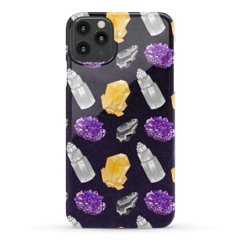 Enby Crystals Phone Case