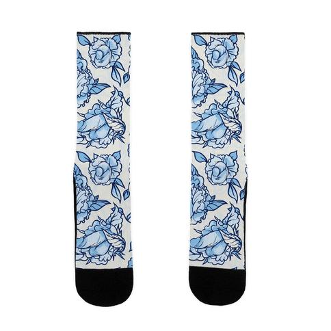 FLORAL PENIS PATTERN Sock