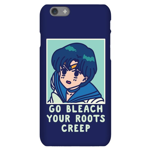 Go Bleach Your Roots Creep Sailor Mercury Phone Case