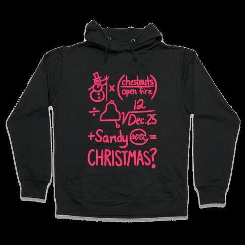Christmas Equation Hooded Sweatshirt