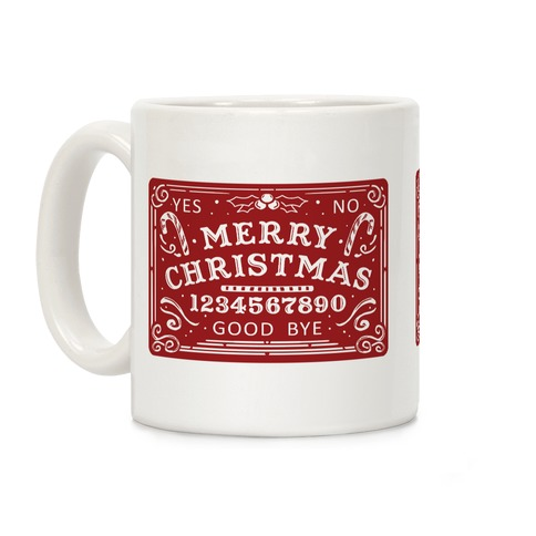 Merry Christmas Ouija Coffee Mug