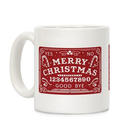 Merry Christmas Ouija Coffee Mug