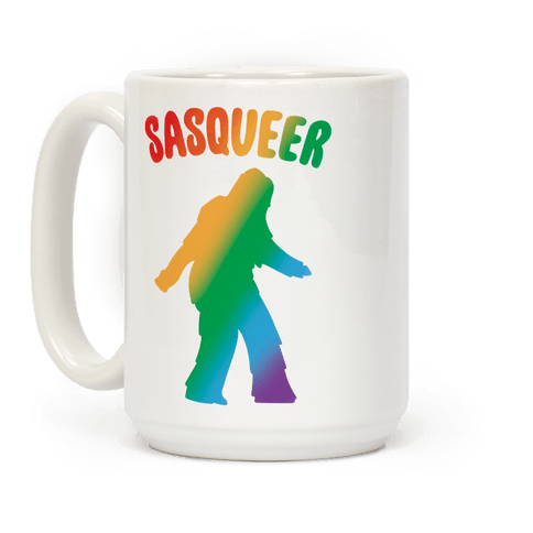 Sasqueer Parody  Coffee Mug