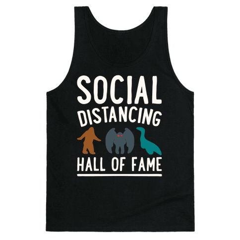 Social Distancing Hall of Fame Tank Top