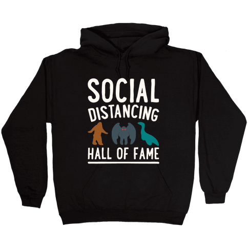 Social Distancing Hall of Fame Hooded Sweatshirt