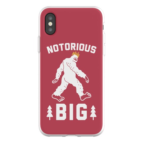 Notorious BIGfoot Phone Flexi-Case