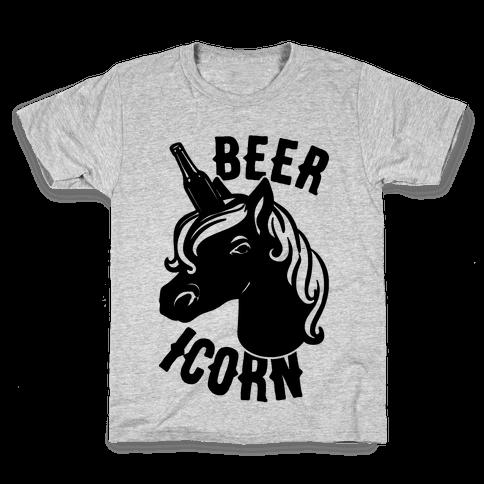Beer-icorn  Kids T-Shirt