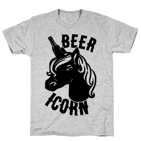 Beer-icorn  Mens T-Shirt