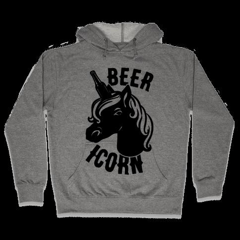 Beer-icorn  Hooded Sweatshirt