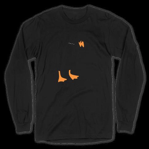 Emo Honk Goose Long Sleeve T-Shirt