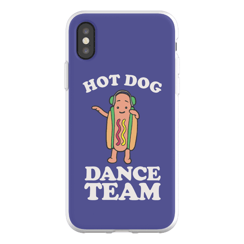 Hot Dog Dance Team Phone Flexi-Case