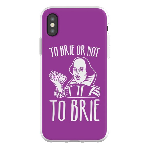 To Brie or Not To Brie Phone Flexi-Case