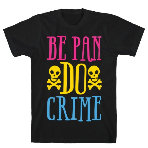 Be Pan Do Crime White Print T-Shirt