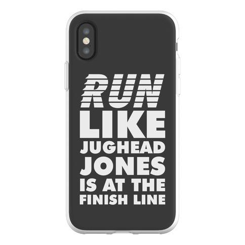 Run Like Jughead is at the Finish Line Phone Flexi-Case