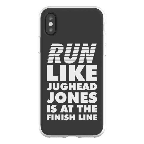Run Like Jughead is at the Finish Line Phone Flexi-Case