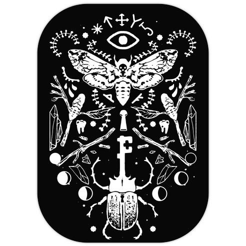 Occult Musings Die Cut Sticker
