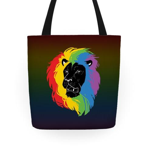 Rainbow Lion Tote