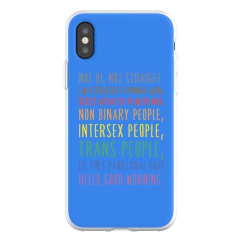 Kehlani Queer Identity Pride Quote Phone Flexi-Case