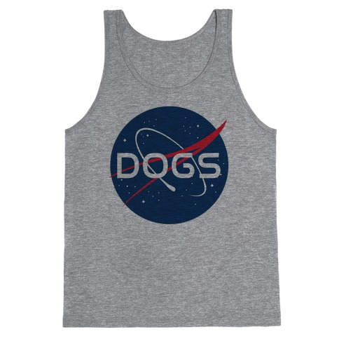 Dogs Nasa Parody Tank Top