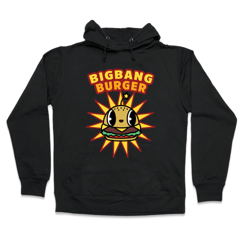 Big Bang Burger Hooded Sweatshirt