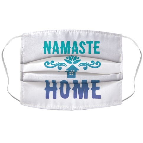 Namaste Home Accordion Face Mask