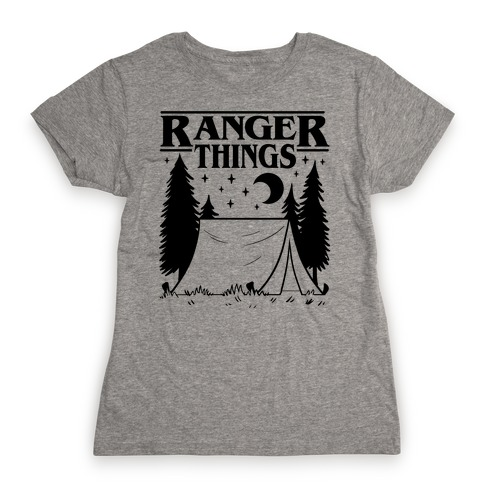 Ranger Things Womens T-Shirt