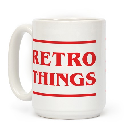 Retro Things Coffee Mug