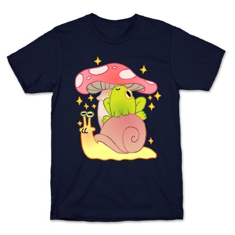 Cute Snail & Frog T-Shirt