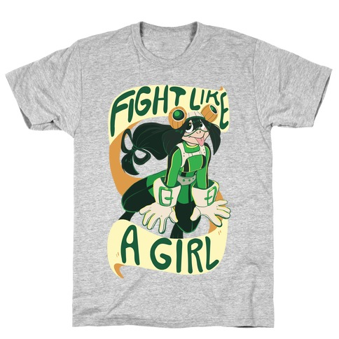 Fight Like A Girl - Froppy T-Shirt