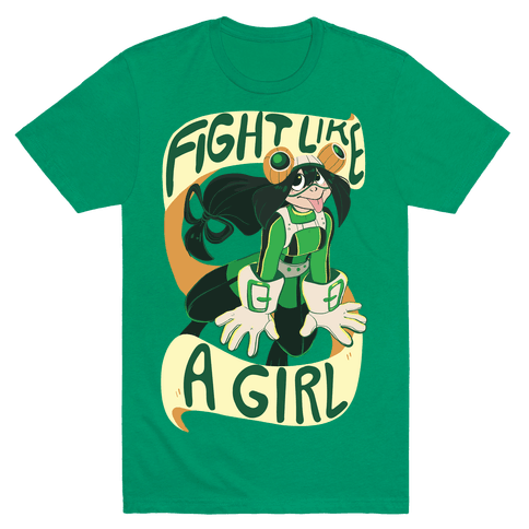 Fight Like A Girl - Froppy Mens T-Shirt
