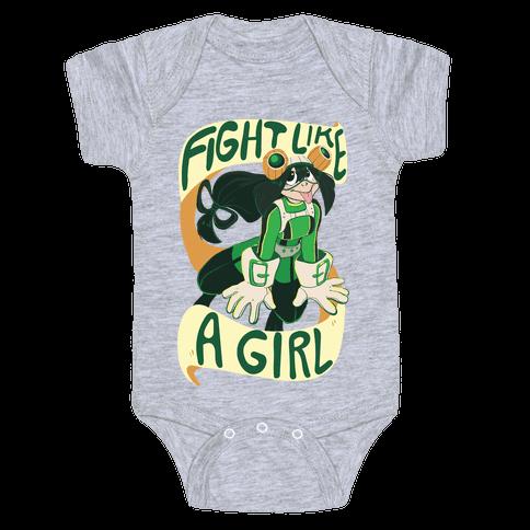 Fight Like A Girl - Froppy Baby Onesy