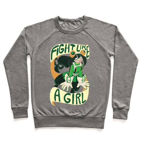 Fight Like A Girl - Froppy Pullover