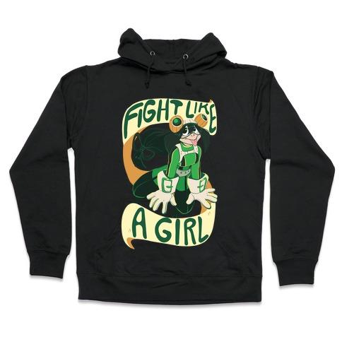 Fight Like A Girl - Froppy Hooded Sweatshirt
