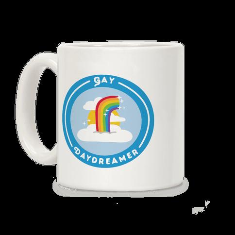 Gay Daydreamer Patch Coffee Mug